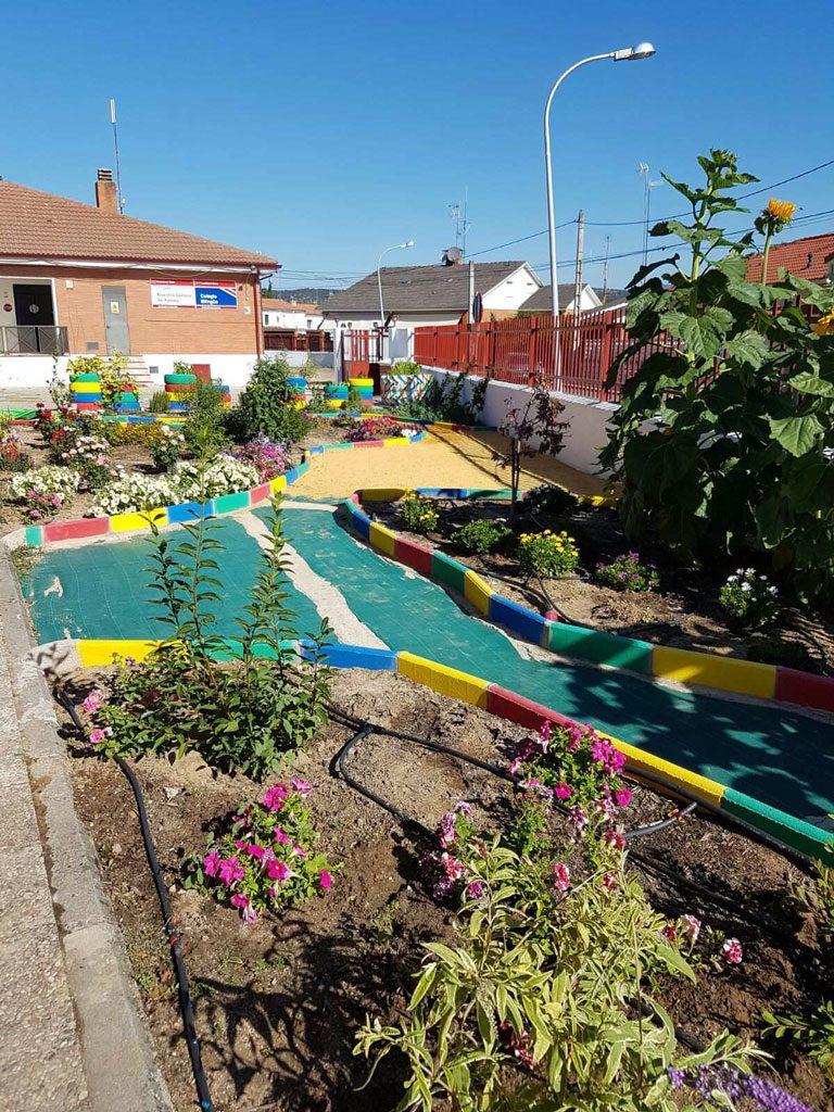 El jard n sensorial ya es una realidad ayuntamiento de for Jardin oriental aldea del fresno